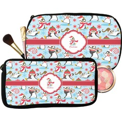 Christmas Penguins Makeup / Cosmetic Bag (Personalized)