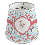 Christmas Penguins Empire Lamp Shade (Personalized)
