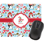 Christmas Penguins Mouse Pads (Personalized)