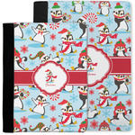 Christmas Penguins Notebook Padfolio w/ Name or Text