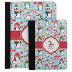 Christmas Penguins Padfolio Clipboard (Personalized)