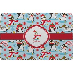 Christmas Penguins Comfort Mat (Personalized)