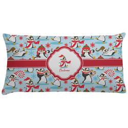 Christmas Penguins Pillow Case (Personalized)