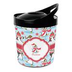 Christmas Penguins Plastic Ice Bucket (Personalized)