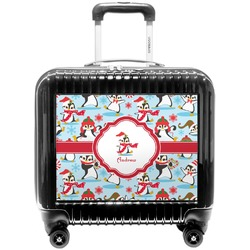 Christmas Penguins Pilot / Flight Suitcase (Personalized)