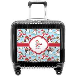 Christmas Penguins Pilot / Flight Suitcase (Personalized)