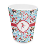 Christmas Penguins Plastic Tumbler 6oz (Personalized)