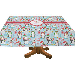 Christmas Penguins Tablecloth (Personalized)