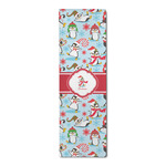 Christmas Penguins Runner Rug - 3.66'x8' (Personalized)