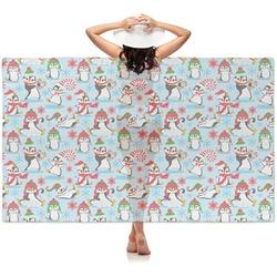 Christmas Penguins Sheer Sarong (Personalized)