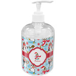 Christmas Penguins Soap / Lotion Dispenser (Personalized)