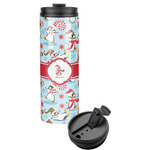 Christmas Penguins Stainless Steel Tumbler (Personalized)