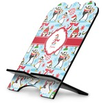 Christmas Penguins Stylized Tablet Stand (Personalized)