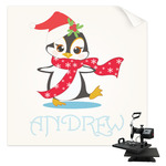 Christmas Penguins Sublimation Transfer (Personalized)