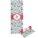 Christmas Penguins Yoga Mat - Printable Front and Back (Personalized)