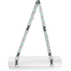 Christmas Penguins Yoga Mat Strap (Personalized)