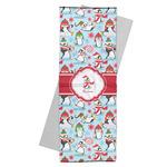 Christmas Penguins Yoga Mat Towel (Personalized)