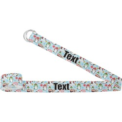Christmas Penguins Yoga Strap (Personalized)
