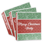 Christmas Holly 3-Ring Binder (Personalized)