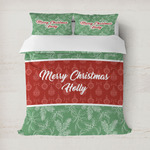 Christmas Holly Duvet Covers (Personalized)