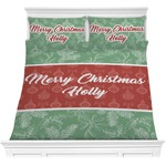 Christmas Holly Comforters (Personalized)