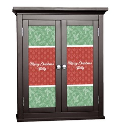 Christmas Holly Cabinet Decal - XLarge (Personalized)