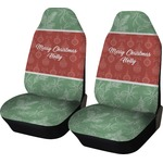 Christmas Holly Car Seat Covers (Set of Two) (Personalized)