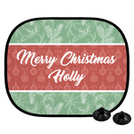 Christmas Holly Car Side Window Sun Shade (Personalized)