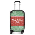 Christmas Holly Suitcase (Personalized)