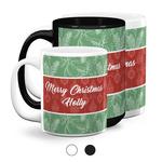 Christmas Holly Coffee Mugs (Personalized)