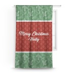 Christmas Holly Curtain (Personalized)