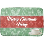 Christmas Holly Dish Drying Mat (Personalized)