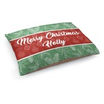 Christmas Holly Dog Bed (Personalized)