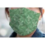 Christmas Holly Face Mask Cover (Personalized)