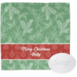 Christmas Holly Wash Cloth (Personalized)