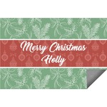 Christmas Holly Indoor / Outdoor Rug (Personalized)