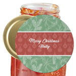 Christmas Holly Jar Opener (Personalized)