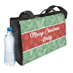Christmas Holly Ladies Workout Bag (Personalized)