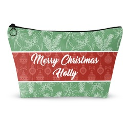 Christmas Holly Makeup Bags (Personalized)