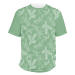 Christmas Holly Men's Crew T-Shirt (Personalized)