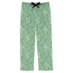 Christmas Holly Mens Pajama Pants (Personalized)