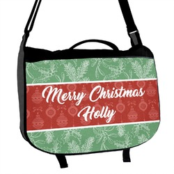 Christmas Holly Messenger Bag (Personalized)