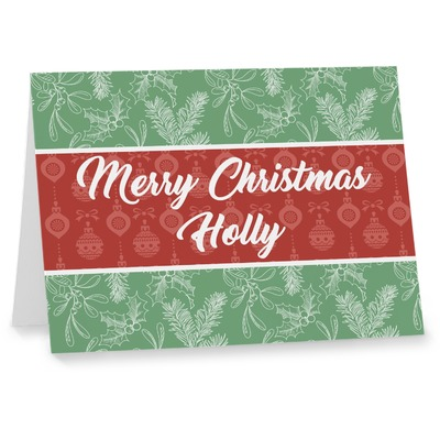 Christmas Holly Note cards (Personalized)