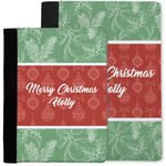 Christmas Holly Notebook Padfolio w/ Name or Text