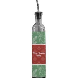 Christmas Holly Oil Dispenser Bottle (Personalized)