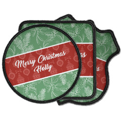 Christmas Holly Iron on Patches (Personalized)