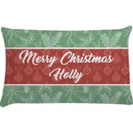 Christmas Holly Pillow Case (Personalized)