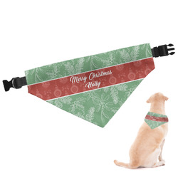 Christmas Holly Dog Bandana (Personalized)