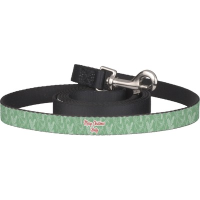 Christmas Holly Dog Leash (Personalized)