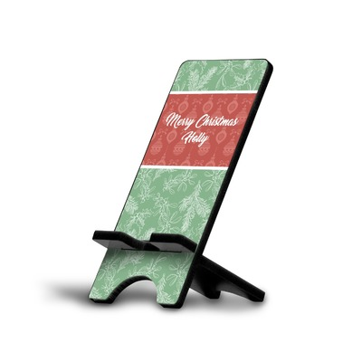 Christmas Holly Cell Phone Stands (Personalized)